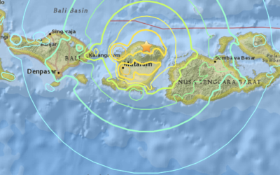 Lombok Hit with Earthquake Magnitude 6.4